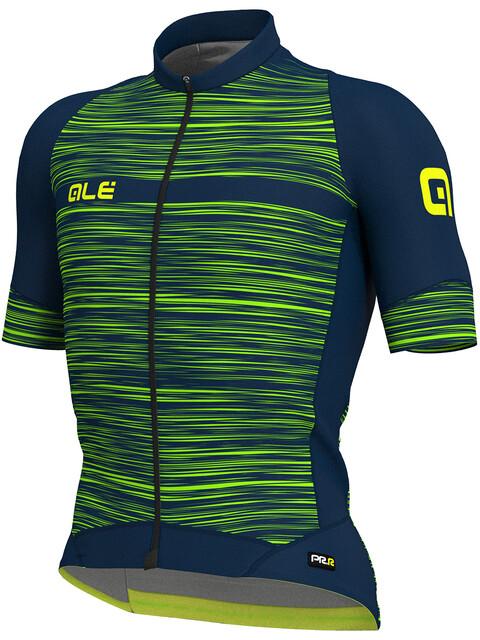 Alé Cycling Graphics PRR End SS Jersey Men blue-flou green